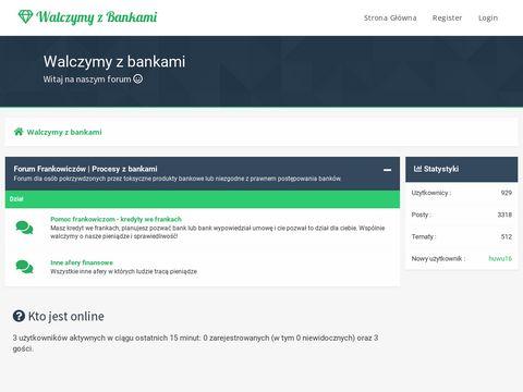 Walczymyzbankami.pl odfrankowanie umowy