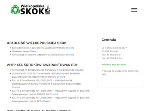 Wielkopolskaskok.pl - oferty pożyczek, kont, lokat