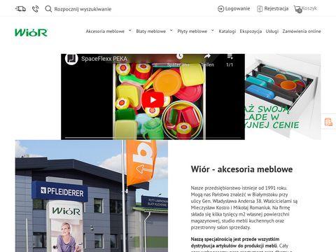 Wior.pl akcesoria meblowe