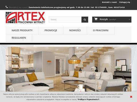 Artex - lampy witrażowe, witraże