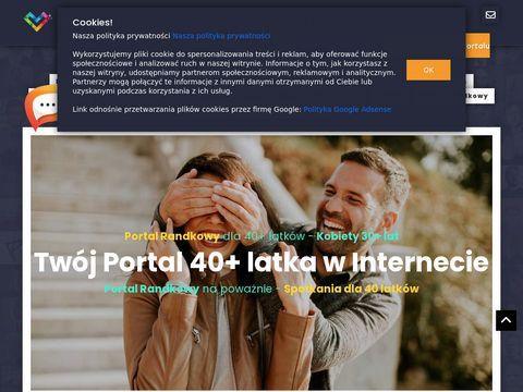 40latki.pl portal randkowy