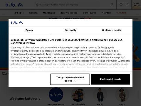 51015kids.eu ubrania dla dzieci