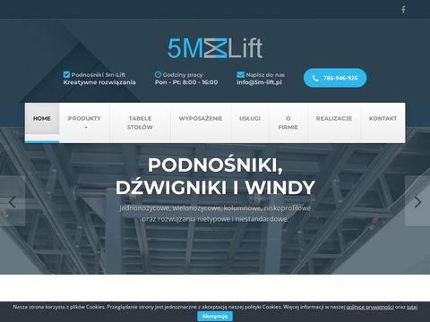 5m-lift.pl podest nożycowy Warszawa