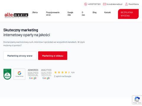 Alte Media reklama na YouTube