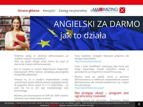 Angielskizdofinansowaniem.pl szkolenia językowe