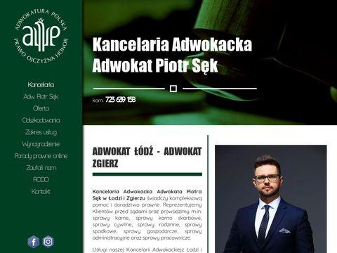 Adwokat-sekpiotr.pl Łódź