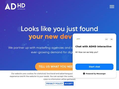 ADHD Interactive agencja interaktywna z Poznania
