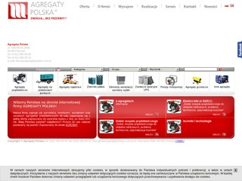 Agregatypolska.com.pl prądotwórcze