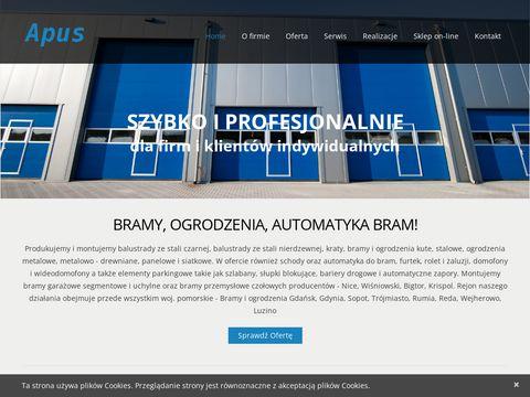 Apus.comweb.pl bramy Wejherowo