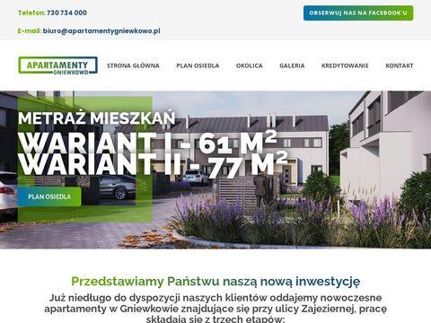 Apartamentygniewkowo.pl na sprzedaż