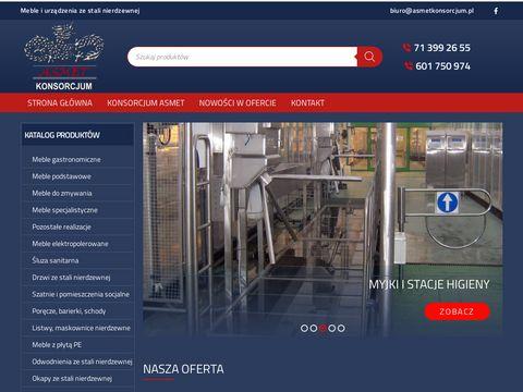 Asmetkonsorcjum.pl śluzy higieniczne