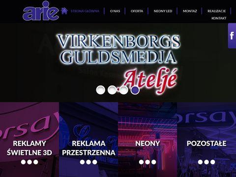 Arie.com.pl neony Poznań