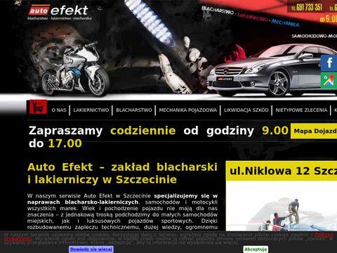 Auto Efekt lakiernictwo Szczecin
