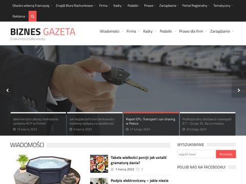 BiznesGazeta.pl - prawo podatkowe