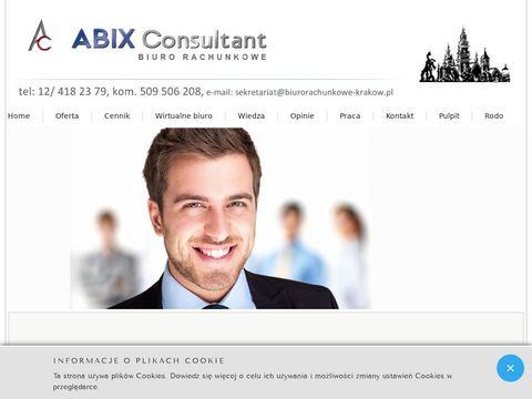 Abix Consultant rachunkowość