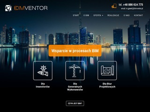 BimVentor modelowanie informacji o budynku
