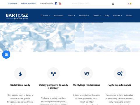 Bartosz.com.pl uzdatnianie wody i ultrafiltracja