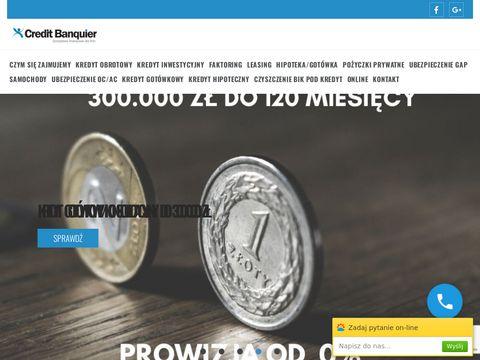 Credit Banquier znajdź kredyt firmowy