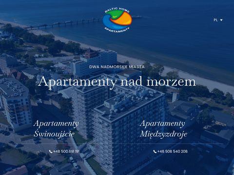 Baltichome.pl apartamenty świnoujście