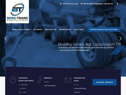Berg-Trans serwis aut ciężarowych