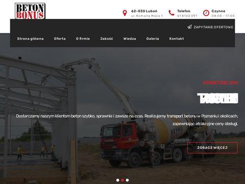Beton-bonus.pl Poznań
