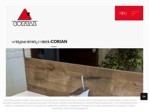 Cortal.com.pl - umywalki z corianu