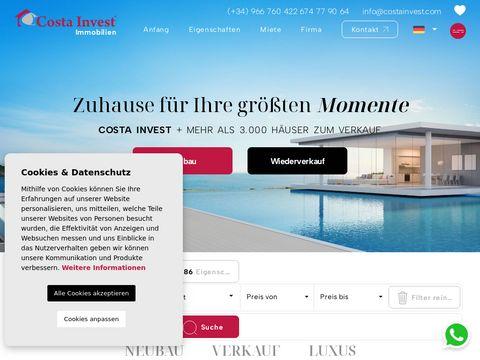 Costainvest.com - nieruchomości w Hiszpanii