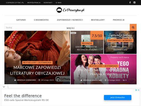 Coprzeczytac.pl recenzje książek