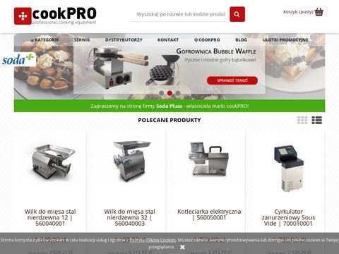 Cookpro.pl maszyny i urządzenia gastronomiczne