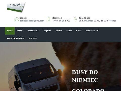 Coloradobus.pl busy do Niemiec