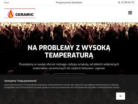 Beton ogniotrwały - Ceramic