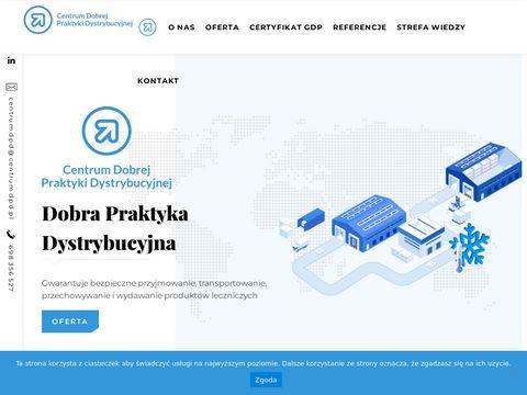 Centrumdpd.pl - mapowanie chłodni