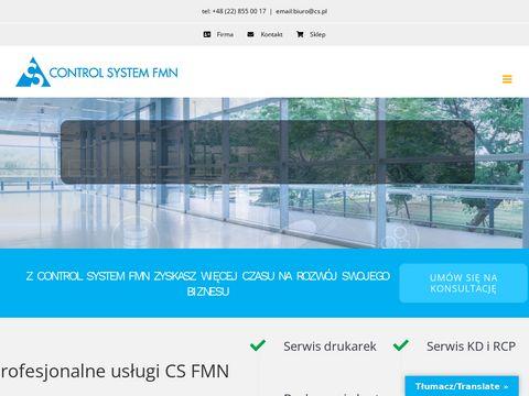 Cs.pl control system fmn