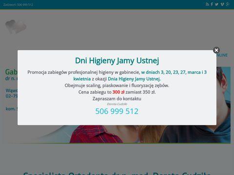 Cudzilo.pl ortodonta Warszawa