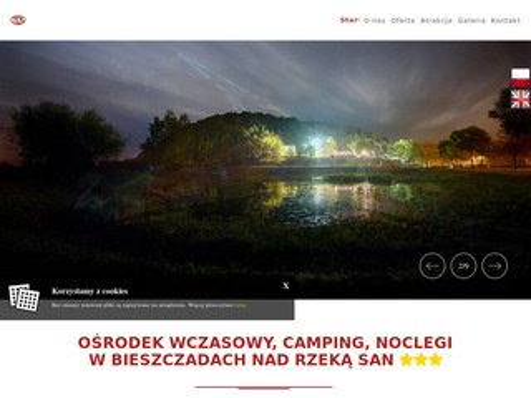 Diablagora.com.pl domki wczasowe Bieszczady