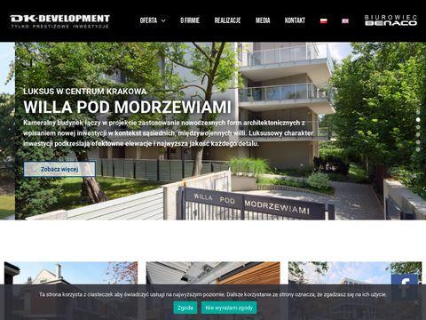 Dkdevelopment.pl mieszkania kraków
