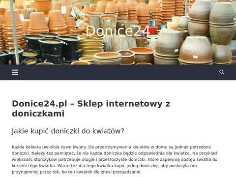 Donice24.pl nowoczesne doniczki w sklepie