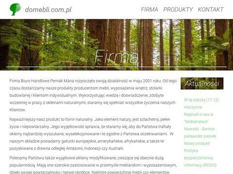Domebli.com.pl okleiny naturalne