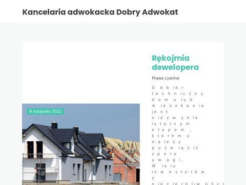 Dobryadwokat.org.pl prawo ochrony danych
