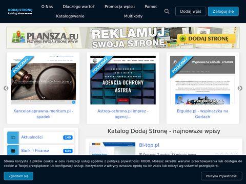 Dodaj-strone.com.pl - katalog