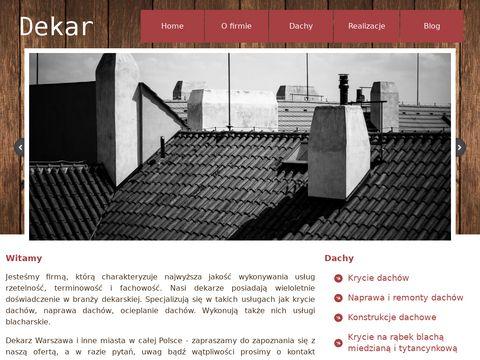 Dachydekar.com.pl usługi ciesielskie