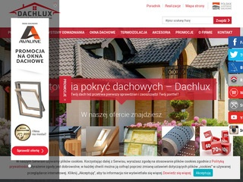 Dachlux pokrycia dachowe Łomianki