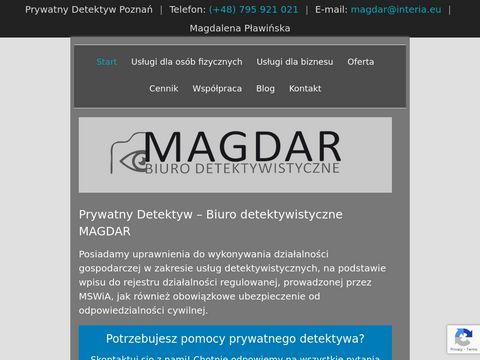 Detektywmagdar.pl prywatne biuro