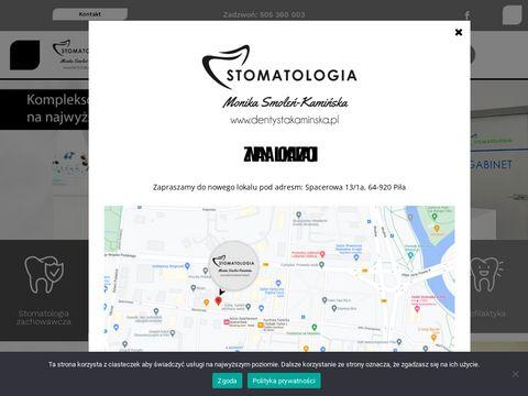 Dentystakaminska.pl Piła