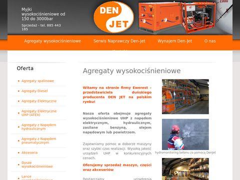 Den-jet.pl maszyny czyszczące