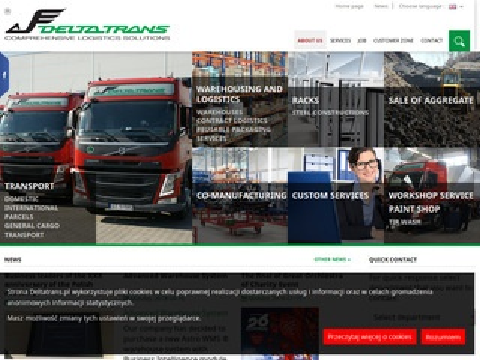 Delta Trans - pojemniki metalowe - transportowe