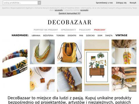 Decobazaar.com hand made sklep