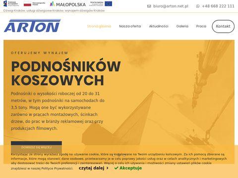 Dzwigisamochodowe.pl transport HDS