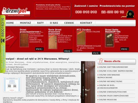 Tanie Drzwi Warszawa - drzwi antywłamaniowe