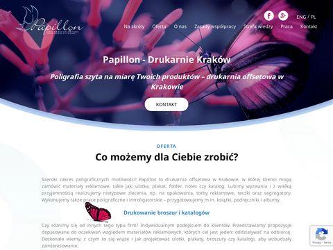 Drukarniapapillon.pl zamów wzornik